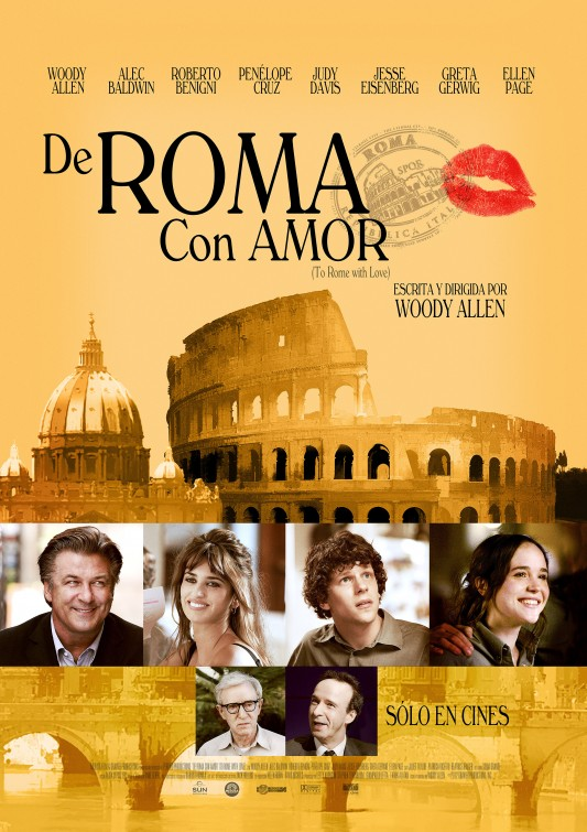 9. To Rome With Love