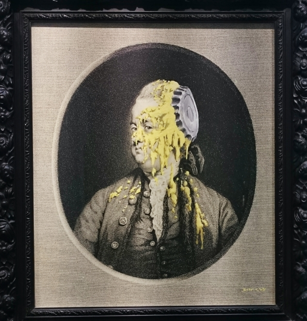 Andipa Gallery – Banksy – Custardized Oil