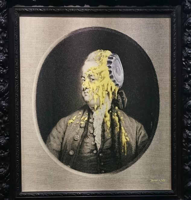 Andipa Gallery – Banksy – Custardized Oil