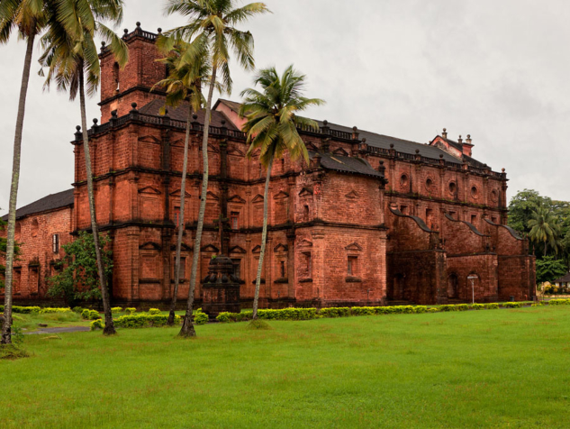 Basilica of Bom Jesus at Old Goa