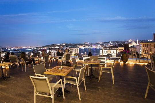 Kasa Roof Lounge ve Tarihi Yarımada