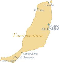 Fuerteventura Harita