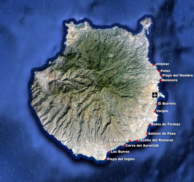 Gran Canaria Windsurfing Spots