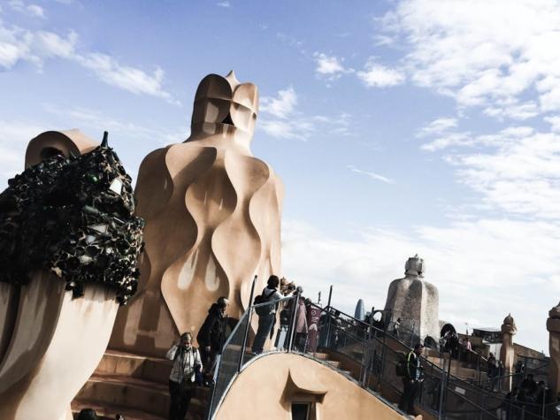 Gaudi'nin Barselona'ya Hediyesi: Casa Mila
