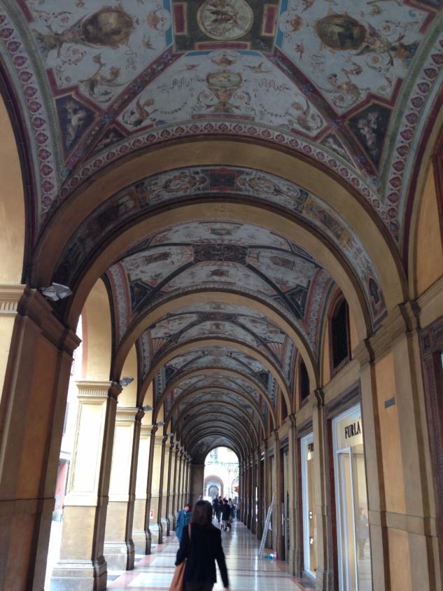 Bologna'nın revakları