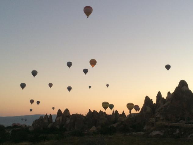 Göreme'den Balon Manzarası