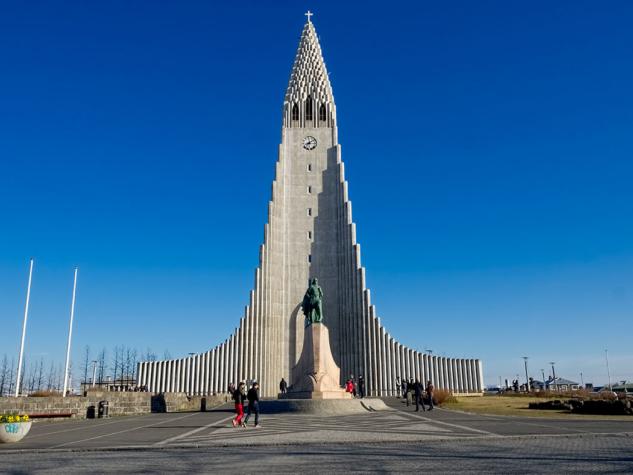 İzlanda, Hallgrímskirkja Kilisesi