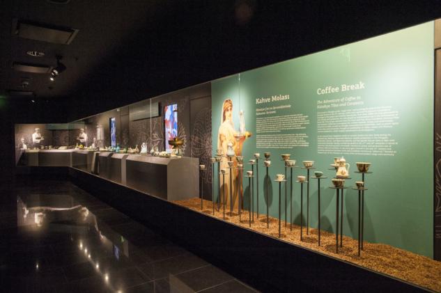 Pera Müzesi'nde Kahve Molası