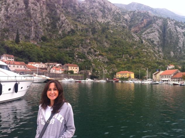 Kotor- Liman manzarası