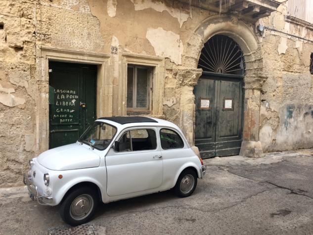 Lecce sokaklar