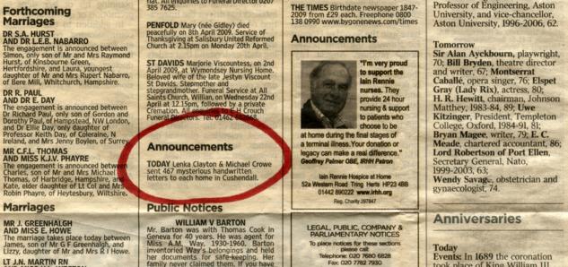 ML_Cushendall_newspaper_announcement