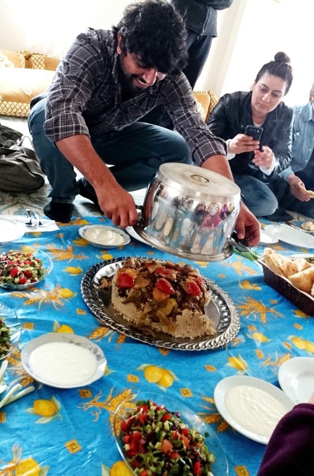 Dara köyünde Maklube