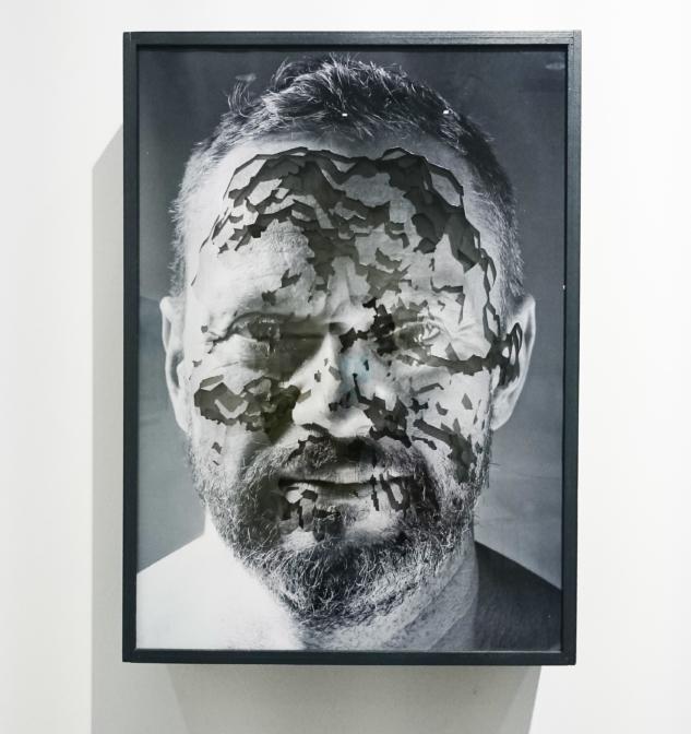 Nitra Gallery – Michel Lamoller – Facescape 7, 2015