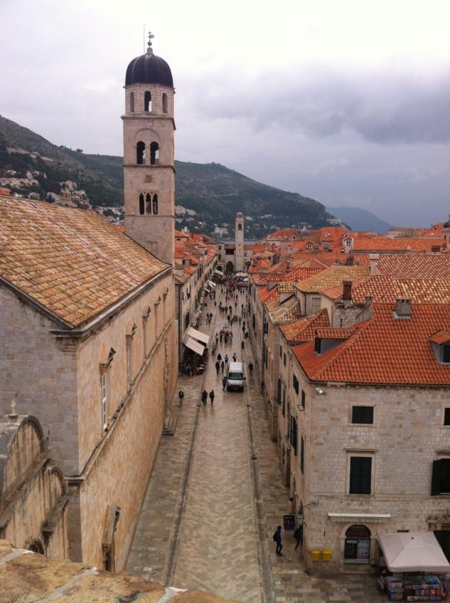 Old City surlarından manzaralar
