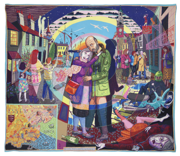 Victoria Miro – Grayson Perry – In its Familiarity Golden, 2015