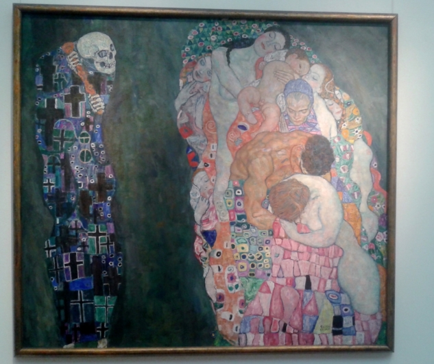 death and life-klimt