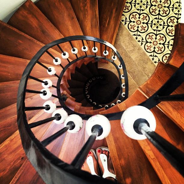 Güle Butik Otel Merdivenler