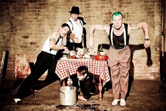 Red Hot Chili Peppers by Ellen von Unwerth
