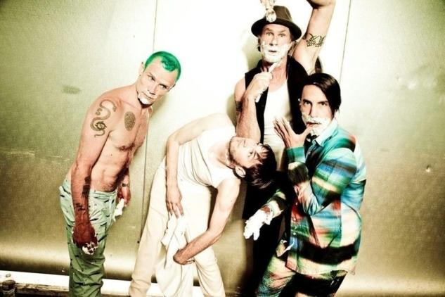 Red Hot Chili Peppers by Ellen von Unwerth