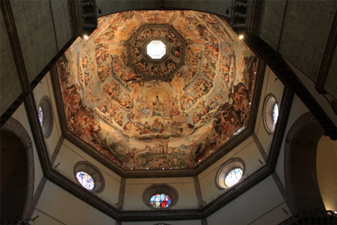 Duomo'nun İçten Kubbesi