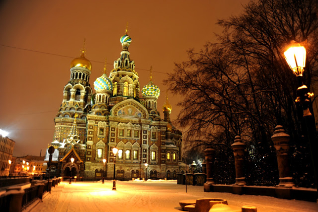 St. Petersburg – Church of The Savior On Blood