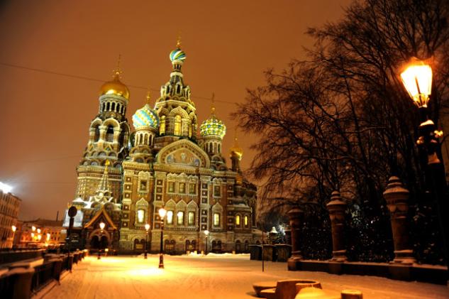 St. Petersburg – Church of The Savior On Blood