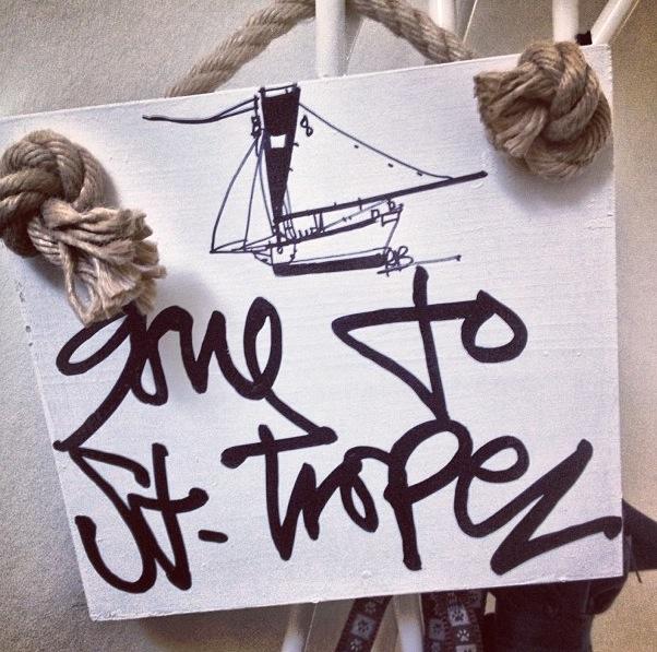 Gone to St-Tropez by @jordansydnie (instagram)
