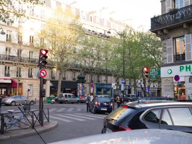 Paris Streets in April