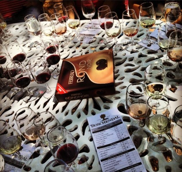 Broshendal'de Şarap Tadımı