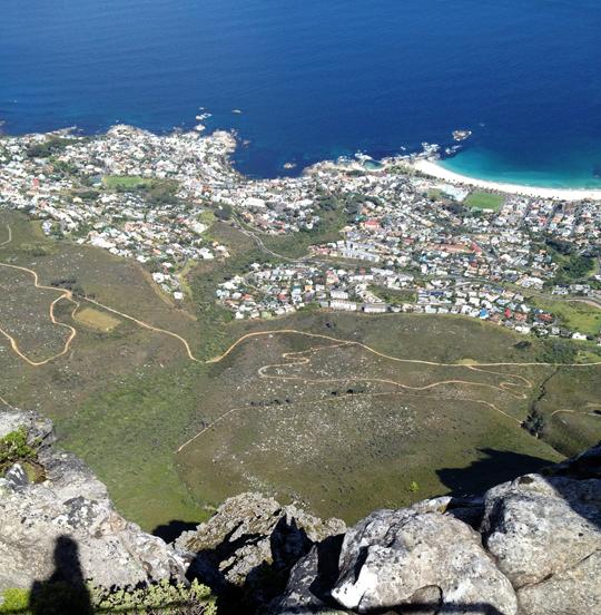 Masa Dağı'ndan Cape Town