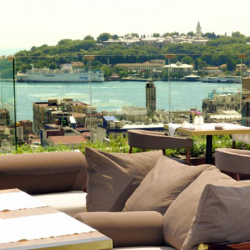 Galata'da Bir Gün: Le Fumoir - Georges Hotel ve Nardis
