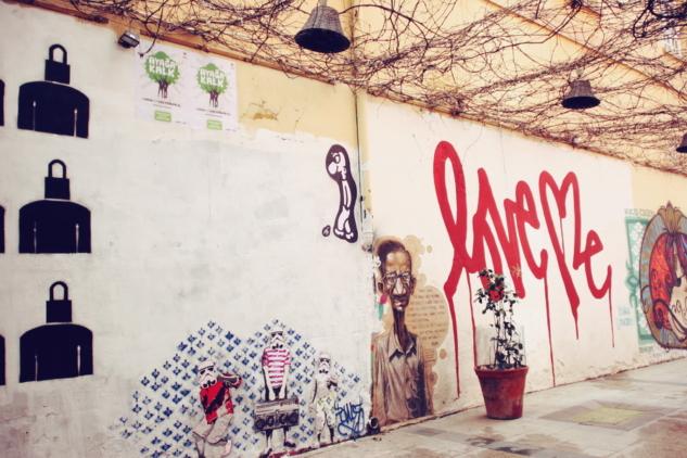kartal sokak graffiti