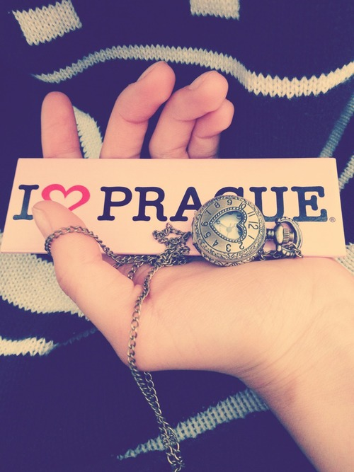 i love prague
