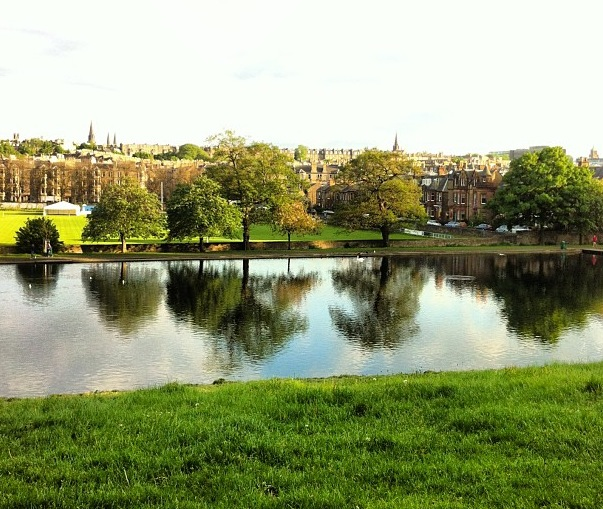Inverleith Park – Edinburgh – Photo by Ayse Kose