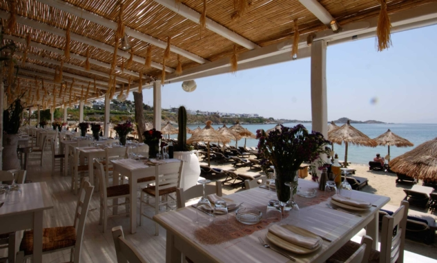 Mykonos'ta Yemek — N'ammos