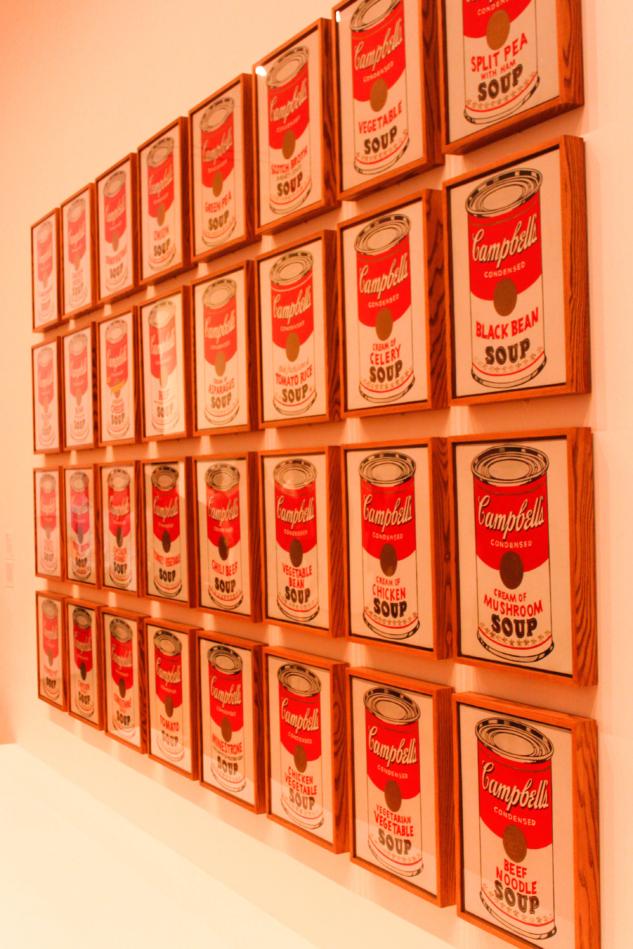 Museum of Modern Art andy warhol