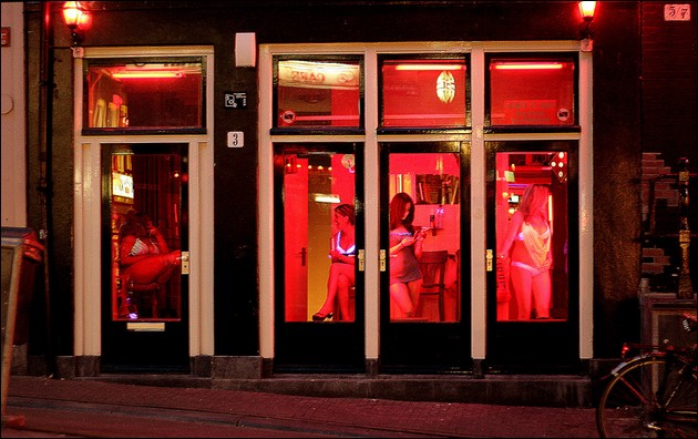 amsterdam – red light district