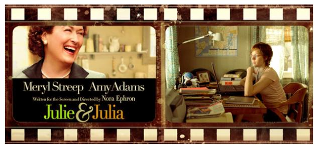 sosyal çağın filmleri – julie&julia