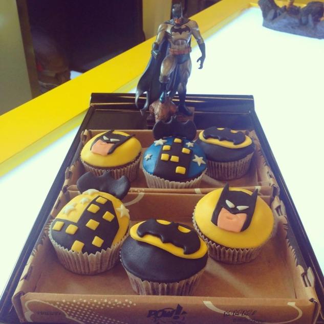Pow Caddebostan – Batman Cupcake