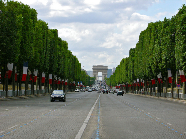 paris – champs elysees