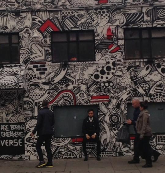 londra – shoreditch graffiti
