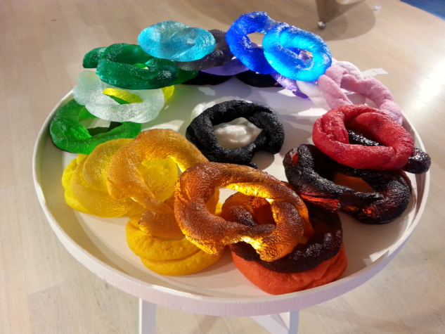 Renkli Cam Tasarımı | Simit