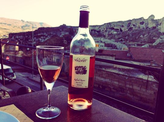Kapadokyada Şarap