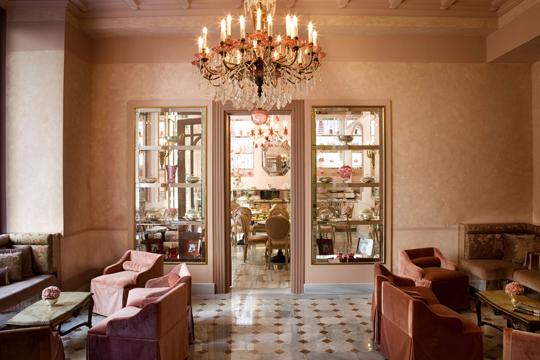 Pera Palace'ın Sofistike Café'si: Patisserie de Pera
