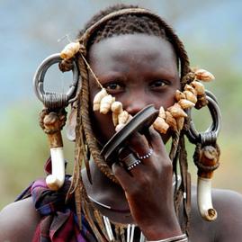 Etiyopya'nın En Çarpıcı, En Doğal Bölgelerinden Omo Vadisi