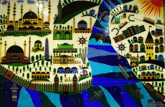 Camdan Tasarımlar Tarihi Yarım Ada