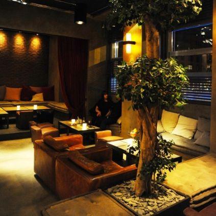 Kırmızının Büyüsü: Circle Lounge Bar & Restaurant, Milano