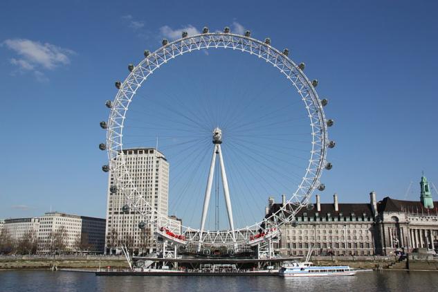 London Eye'dan şehre bakın!