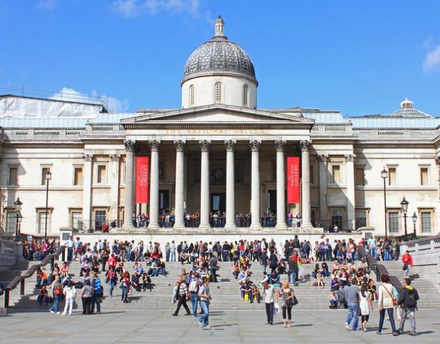 National Gallery & Trafalgar'a yarım gün ayırın!