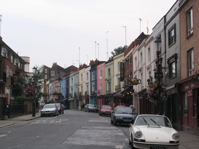 Notting Hill ve Portobello Road'a gidin!
